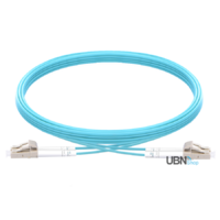 LC-LC UPC Duplex OM3 Multimode Fibre Patch Lead 2.0mm PVC (OFNR)