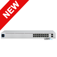 UniFi 16 Port Gigabit Switch Gen2 with PoE and SFP