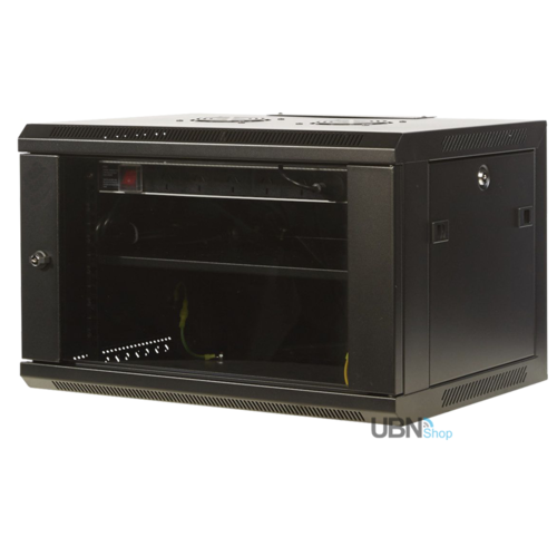 6RU W600mm x D450mm Wall Mount Server Rack