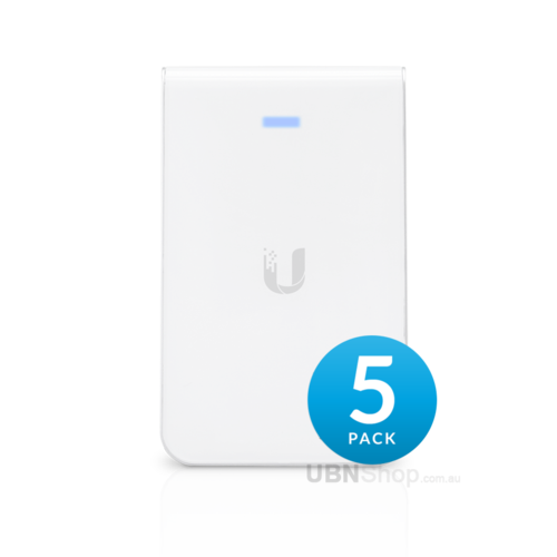 UniFi AC In-Wall Access Point 5 Pack